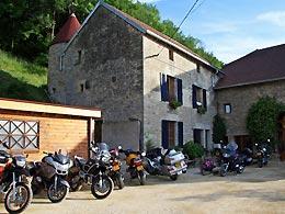 motorvaknatie bij La Tourelle in frankrijk